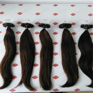 Pre Bonded Micro Ring Remy Human Hair Extensions pictures & photos