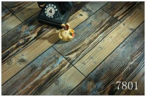 Exotic Synchronized Walnut Laminate Flooring pictures & photos