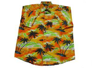 Printed Men′s S/S Shirt