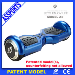 New Self Balance Unfoldable Elecrtic Blue Scooter for Kids pictures & photos