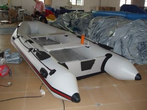 High Quality 1.0mm PVC/TPU Inflatable Rescue Boat/ Inflatable Rib Boat for Sale pictures & photos
