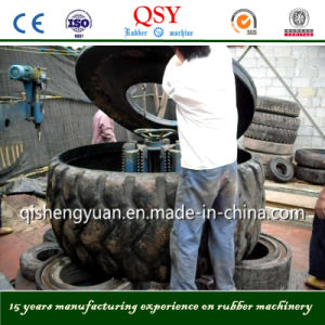 Large Waste Tire Ring Cutter Machine pictures & photos