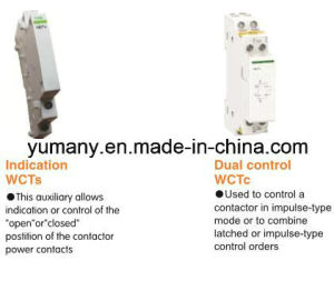 Domestic Contactor Ict DIN Rail Modular Contactor (WCT-63A 3P) pictures & photos