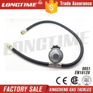 Qcc LPG Gas Pressure Regulator Kit with Double Burner Connections pictures & photos