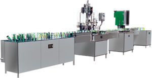 Beverage Machinery The Production Line of Can Juice