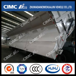 Cimc Huajun 4axle 85cbm Side-Tipping Semi-Trailer for Mining Site pictures & photos