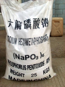 Sodium Hexametaphosphate, CAS No. 10124-56-8, Food Grade, Industrial Grade pictures & photos