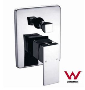Sanitary Ware Watermark Square Brass Bathroom Shower Mixer (HD504D9) pictures & photos