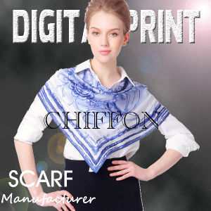 Digital Print on Scarf pictures & photos