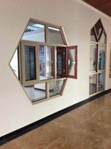 Foshan Biggest Manufacture Thermal Break Aluminium Casement Window with 304ss Net (55 Series) pictures & photos