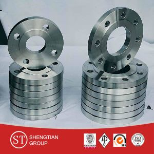 Lowest Price ANSI JIS GOST DIN BS Carbon Steel A105 Galvanized Inch 4 Threaded Flange pictures & photos