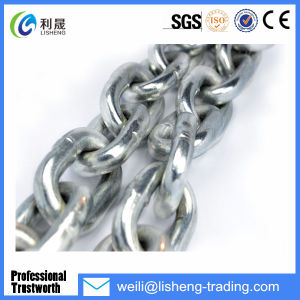 DIN766 Iron Galivanized Short Steel Link Chains pictures & photos