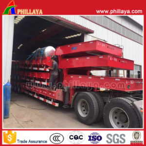 Heavy Duty 3-Line-6-Axle 100t Lowbed Semi Trailer pictures & photos