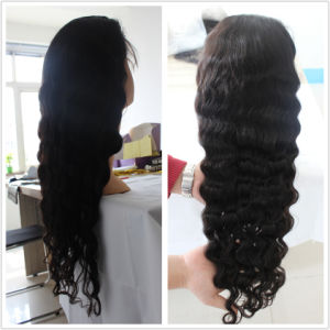 Full Lace Human Hair Wig with Baby Hair pictures & photos