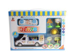 4CH Full Function Plastic Toys RC Car Toy for Kids Restaurant Car pictures & photos