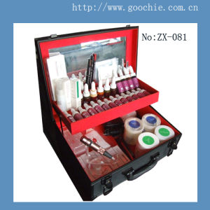 Goochie Professional Tattoo & Permanent Make up Kit (ZX-2011-2) pictures & photos