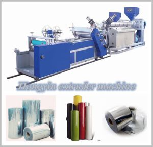 Plastic Film Thickness 0.2-2.5mm of Plastic Sheet Extruder (HY-670) pictures & photos