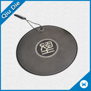 Round Shape PVC Hang Tag / Hangtag for Luggage pictures & photos