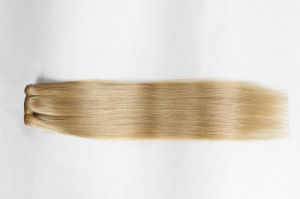 "16""18""20"" Silky Straight Human Hair Clip-in Hair Extension (27#) pictures & photos"