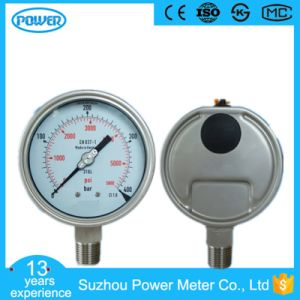 100mm Full Stainless Steel Case Wika Type Manometer pictures & photos