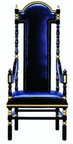 Elegant High-Back Chair Hotel Chair (EMT-HC26) pictures & photos
