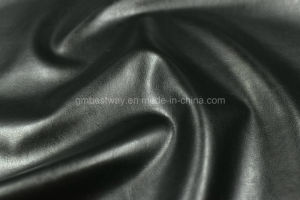 Breathable PU Leather for Sofa with Non-Solvent