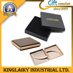 Promotional Titanium Alloy Cigarette Box for Gift (LSWL-YD001) pictures & photos