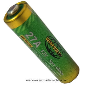 0% Hg 27A/A27 12V Alkaline Dry Battery pictures & photos