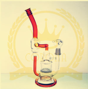 New Popular Smoking Water Pipe Glass Water Pipes with Factory Prices pictures & photos
