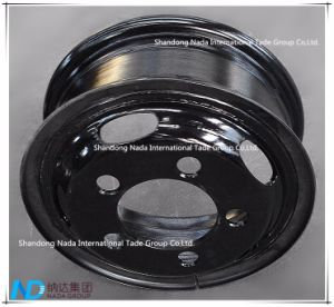 TBR Truck Steel Wheel 5.5f-16 Tube Rim with Ts16949/ISO9001: 2000 pictures & photos
