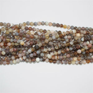 Persian Gulf Botswana Natural Crystal Striped Agate Bead Ball pictures & photos