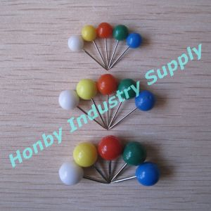 Wholesale Hot Selling Plastic Ball Head Map Pins/Push Pins