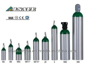 Alsafe Aluminum Alloy Oxygen Air Cylinder Sizes pictures & photos