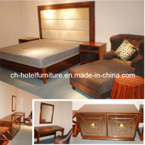 2016 Kingsize Luxury Chinese Wooden Restaurant Hotel Bedroom Furniture (GLB-60008) pictures & photos