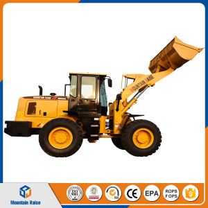 Chinese Front End Wheel Loader 3ton with Pallet Fork pictures & photos