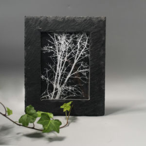 Hot High Standard Natural Limestone Photo Frame pictures & photos