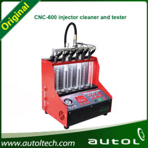 Newest Professional CNC600 Injector Cleaner and Tester Fuel Injector Cleaning Machine 110V or 220V pictures & photos