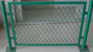 Low Carbon Galvanized Expanded Metal Fence pictures & photos