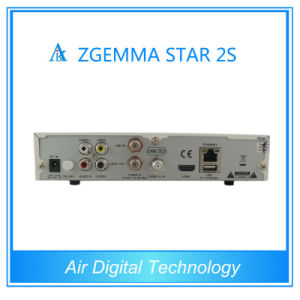 DVB-S2 MPEG4 HD Receiver Zgemma Star 2s Full HD Best HD Satellite Receiver 2015 pictures & photos