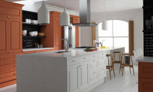 Melamine Laminated Particle Board Kitchen pictures & photos