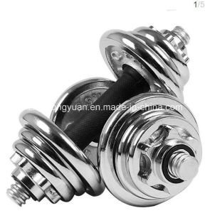 Adjustable Electroplated Dumbbell pictures & photos