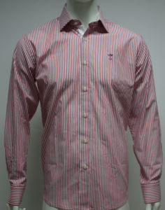 Men′s Casual Poplin Fashion Shirt HD0076