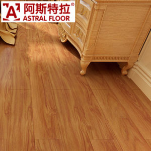 German Technical AC3 Light Color (u-groove) Laminate Flooring pictures & photos