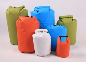 Colorful 250d PVC Tarpaulin Dry Bag for Camping (MC4007) pictures & photos