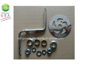 Wide Pedal Crank Kit 3PCS, Crank Shaft Kits, Wide Pedal Crank for Engine and Bicycle pictures & photos