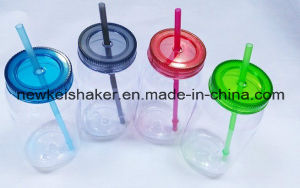 Cheaper 700ml Plastic Factory Custom Protein Shaker Bottle pictures & photos