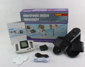 High Quality Portable Electro Pulsed Body Massager with Massage Slipper for Pain Relief