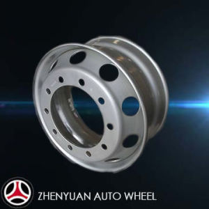 Tubeless Steel Wheel Rim, Heavy Truck Steel Wheel Hub, Bus Wheel, 22.5X11.75 pictures & photos