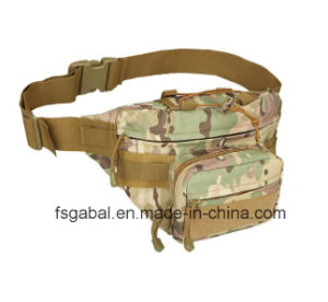 Outdoor Waterproof Camouflage Army Sport Hiking Riding Waist Bag pictures & photos