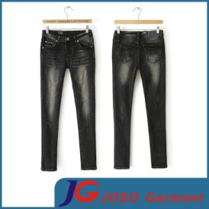 Stretchy Trousers Women Denim Jeans Skinny Pants (JC1326) pictures & photos